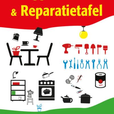 wegggeefkraam & reparatietafel