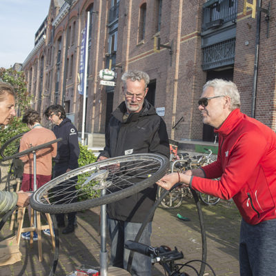 Cursus fietsen repareren