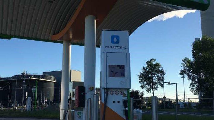 Eerste waterstof pomp Australiëhaven